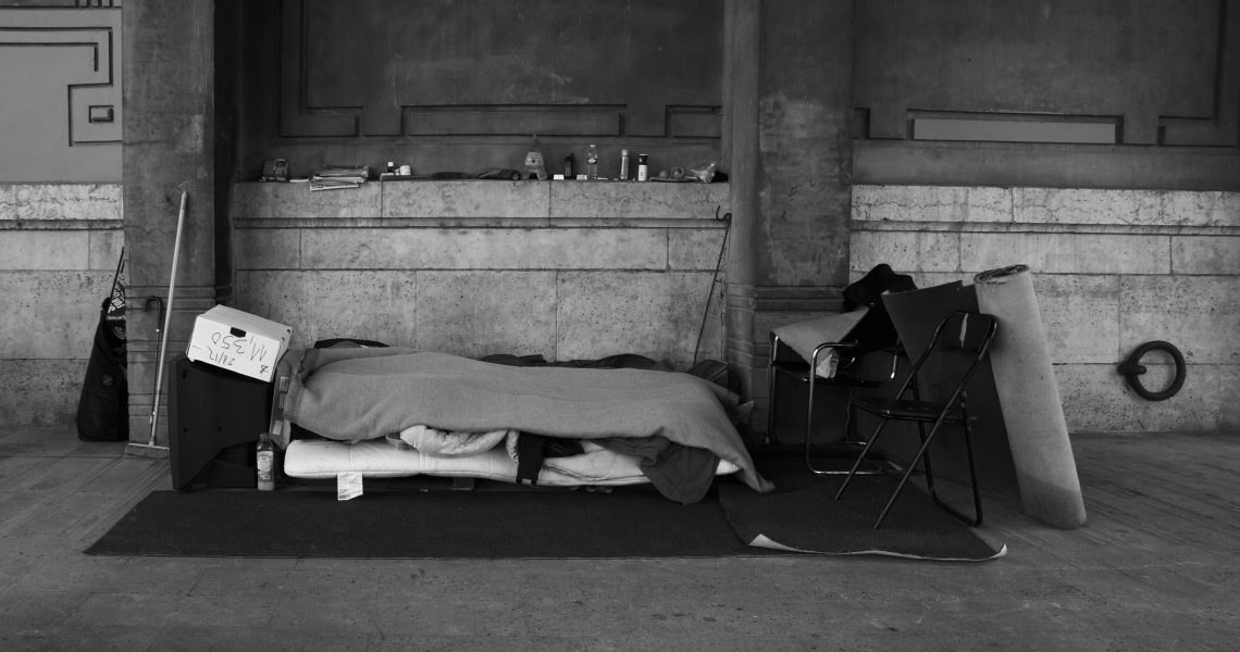 Canva - Homeless Shelter, Paris, France